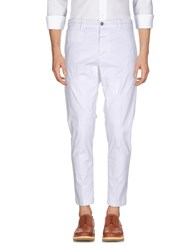 Eredi Del Duca Casual Pants White