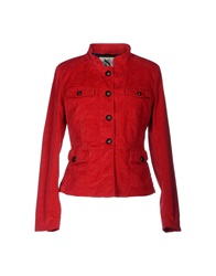 Gant Jackets Red