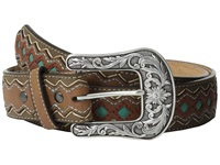 Ariat Zigzag Belt Brown Women's Belts