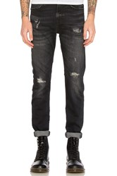 R 13 Skate Jean Warren Black