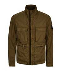 Stone Island 4 Pocket Field Jacket Male Green