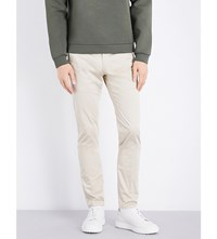 Calvin Klein Piper Slim Fit Tapered Stretch Cotton Chinos Khaki