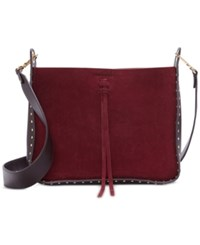 Vince Camuto Enora Small Crossbody Dark Rum