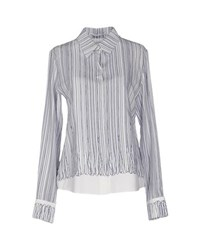 Agnona Shirts Shirts Women Blue