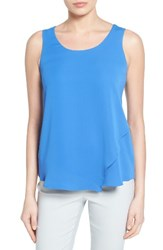 Nic Zoe Women's Promenade Asymmetrical Double Layer Tank Poolside