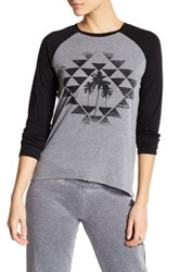 Rip Curl Desert Nights Long Sleeve Graphic Tee Gray