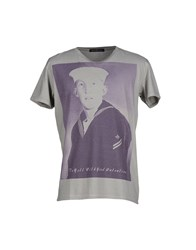 H Lls B Lls Topwear T Shirts Men Grey