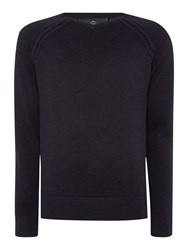 Duck And Cover Mairs V Neck Knitwear Black