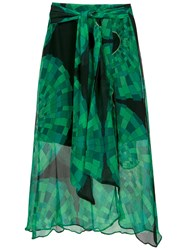 Amir Slama Side Slits Midi Skirt Unavailable