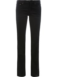 Saint Laurent Slim Fit Jeans Black
