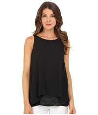 Christin Michaels Reunion High Neck Top Black Women's Clothing