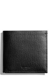 Shinola Men's Hipster Wallet Black