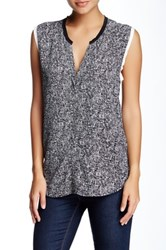 Sandro Edimbourg Sleeveless Blouse Black