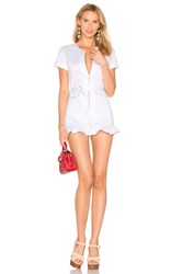 Wildfox Couture Doheny Romper White