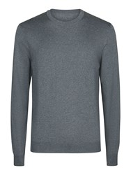 Aquascutum London Men's Rolfe Crew Neck Grey