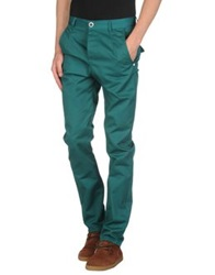 Humor Casual Pants Deep Jade