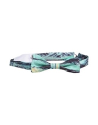 Carven Bow Ties Light Green
