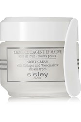 Sisley Paris Night Cream With Collagen And Woodmallow Colorless
