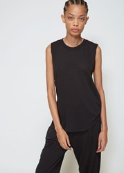 Raquel Allegra Muscle Tee Black