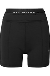 Calvin Klein Printed Stretch Shorts Black