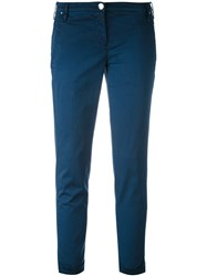 Jacob Cohen Slim Fit Trousers Women Cotton Spandex Elastane 27 Blue
