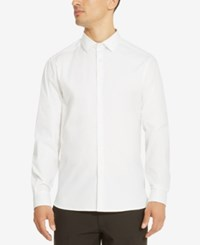 Kenneth Cole Reaction Men's Carlos Stretch Shirt White