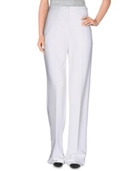 Elisabetta Franchi Trousers Casual Trousers Women White