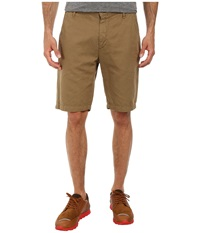 7 For All Mankind Chino Shorts Dark Khaki Men's Shorts