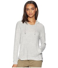 Roxy Love In The Sky Knit V Neck Top Heritage Heather Clothing Gray