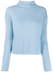 Ermanno Scervino Mock Neck Knitted Jumper 60