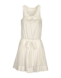 Nioi Short Dresses White