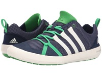Adidas Outdoor Climacool Boat Lace Midnight Grey Chalk White Signal Green Men's Shoes Gray