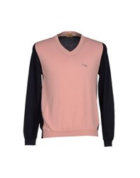 Alviero Martini 1A Classe Knitwear Jumpers Men Pink