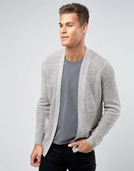 Pull And Bear Pullandbear Cardigan In Brown Marl Brown