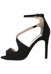 Dorothy Perkins Rosa High Heeled Sandals Black