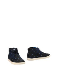 Clae Ankle Boots Dark Blue