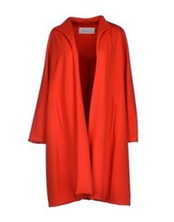 Gianluca Capannolo Full Length Jackets Red
