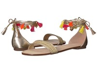 Lilly Pulitzer Willa Sandal Gold Metallic Dress Sandals
