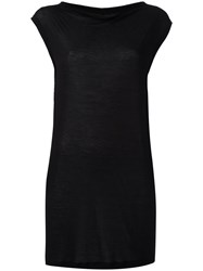 Rick Owens Drkshdw Sleeveless Top Black
