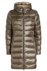 Blauer Impermeabile Quilted Down Coat Green