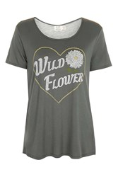 Project Social T Wild Flower Tee By Charcoal