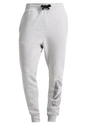 Reebok Tracksuit Bottoms Mid Grey Heather