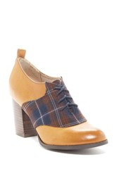 Restricted Pacific Lace Up Heel Brown