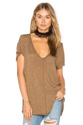 Project Social T Wearever Tee Brown