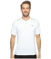 The North Face Reactor Short Sleeve V Neck Tnf White Men's Clothing Multi