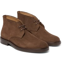 A.P.C. Suede Desert Boots Brown