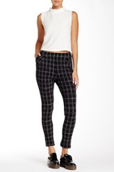 Necessary Objects Window Pane Trouser Black