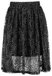 Selected Femme Sflera Aline Skirt Black