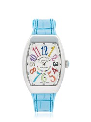 Franck Muller Vanguard Lady Color Dream Quartz Watch Light Blue
