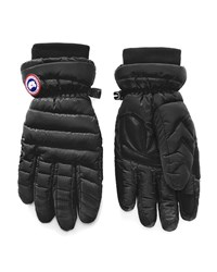 Canada Goose Mitts Lightweight Down Filled Gloves Black